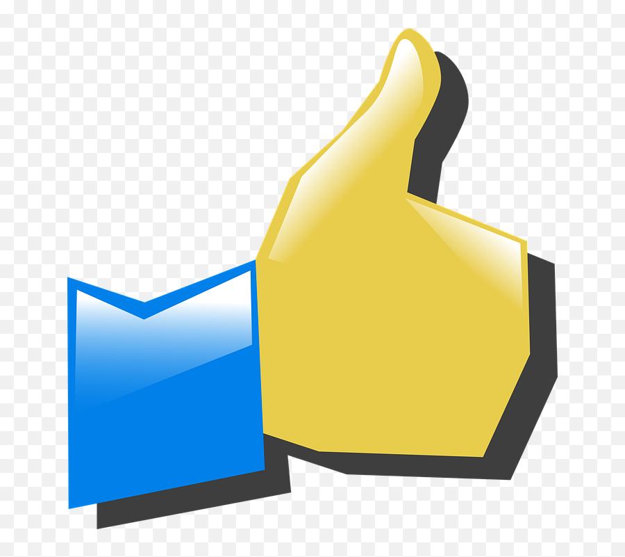 Free Like Thumbs Up Vectors - Correct Clipart Emoji