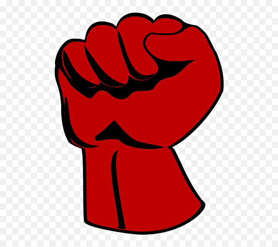 Fist Angry Russian - Png Red Fist Emoji