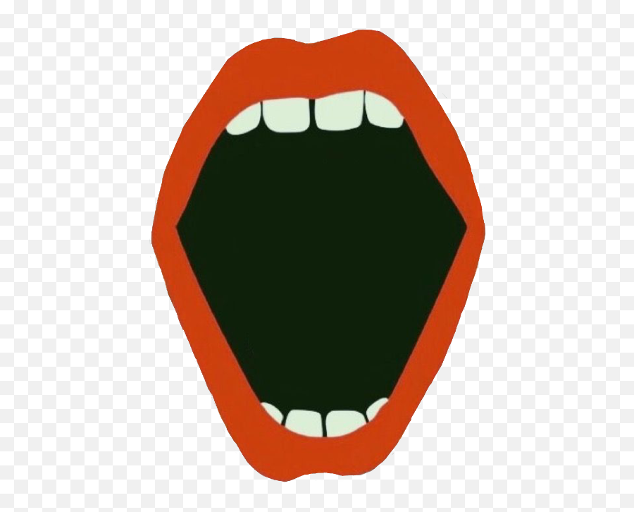 Largest Collection Of Free - Tri Delta In Lips Emoji,Mouth Watering Emoji