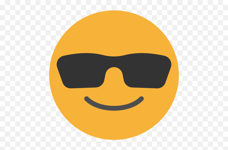 Cool Emoticons Emoji Feelings Smileys Icon - Smiley Cool Png,Cool Emoticons