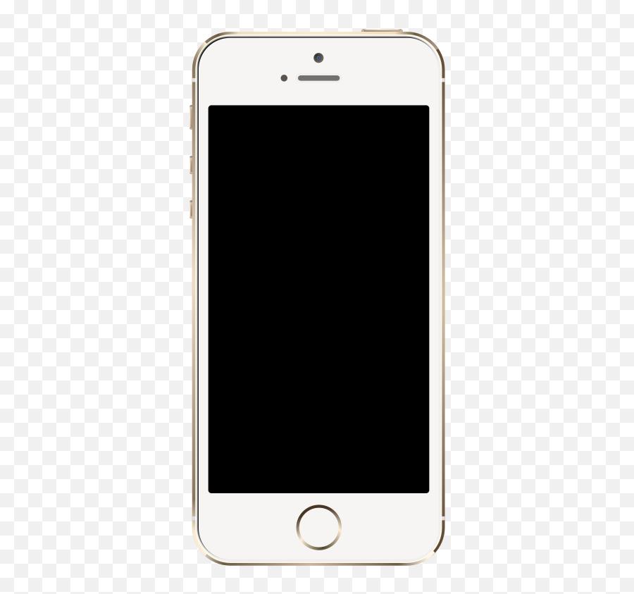 Iphone 5 Clipart - Iphone Png Emoji,Emoji On Iphone 4s
