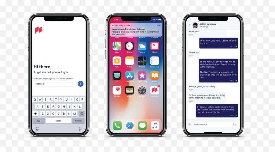 Introducing Twilio Frontline Now In Private Beta - Twilio Iphone X Copy Price In Pakistan Whatmobile Emoji,Owl Emoji Iphone