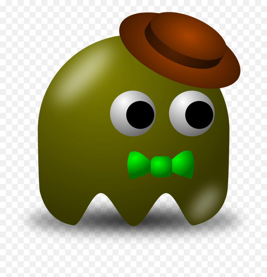 Pacman Pac - Pacman Bad Guys Emoji,Crown Emoticon