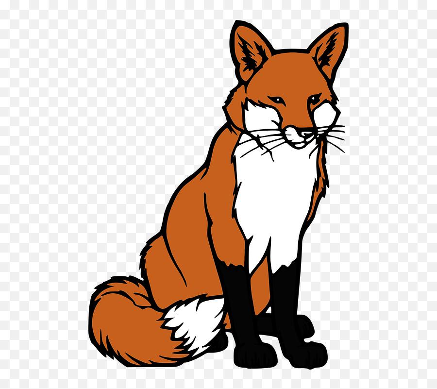 Free Red Fox Fox Images - Fox Clipart Transparent Background Emoji