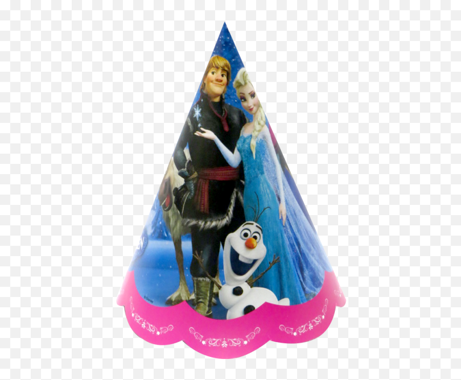 Disney Frozen Birthday Cap - Transparent Party Birthday Cap Emoji