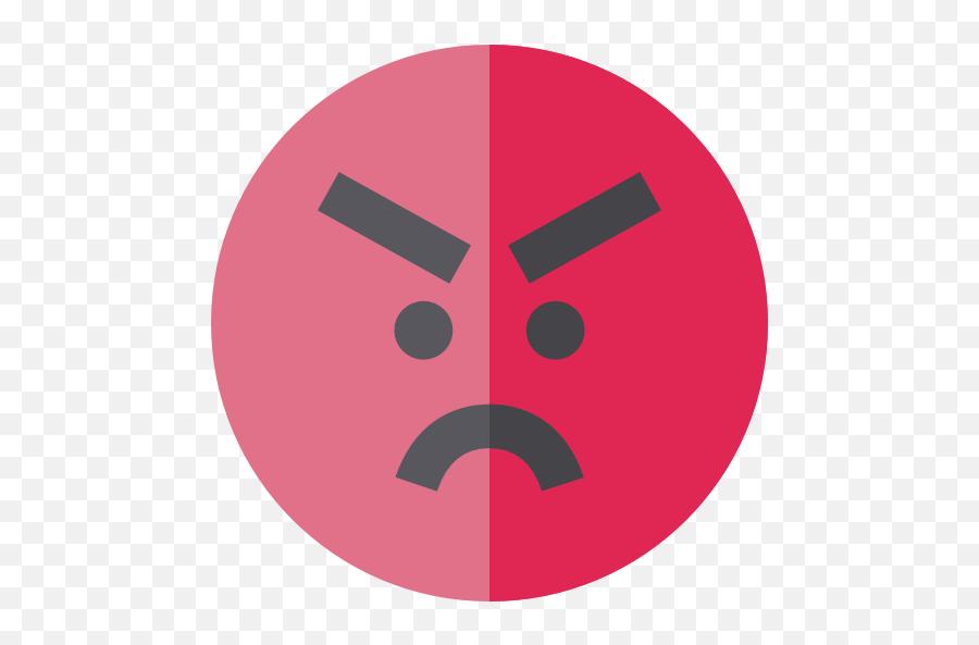 Emoticons Emoji Feelings Smileys Angry Icon - Angry Png Icon,Angry Crying Emoji