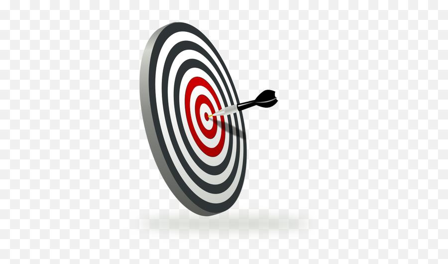 A Target With Dart - Target Game Clipart Emoji,Apple Gun Emoji