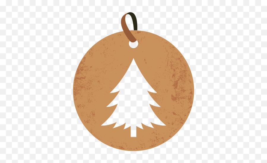 Christmas Tree Round Tag - Tag De Natal Png Emoji,Christmas Tree Emoticon