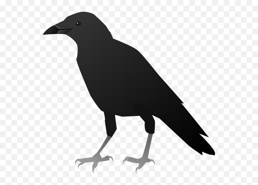 Fx13 Crow - Crow Clipart Emoji