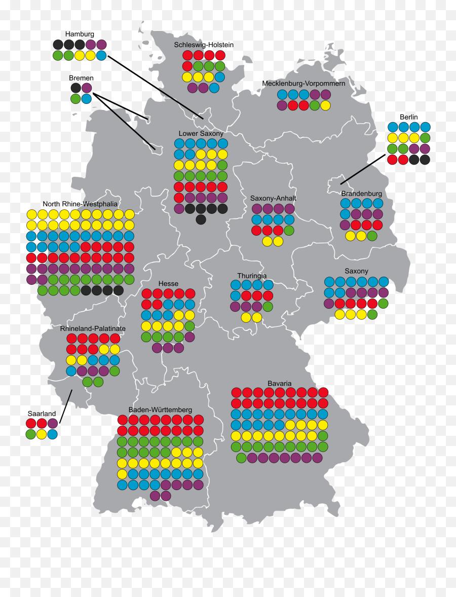 2017 German Federal Election - Berlin Wall East Germany Map Emoji,Most Popular Emojis By State