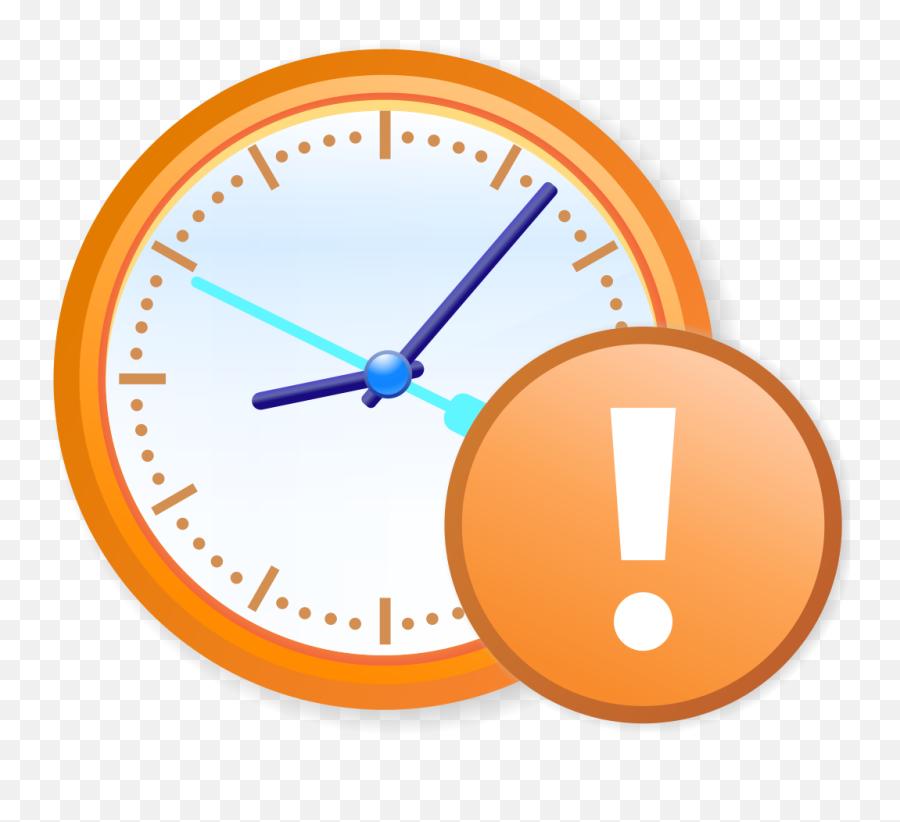 Ambox Outdated Content - Transparent Background Clock Vector Png Emoji,Spongebob Emoji Iphone