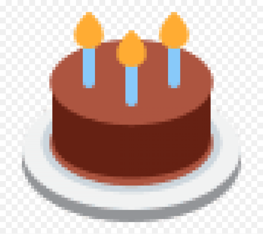 Cake Emoji Png Picture - Birthday Cake Emoji Png