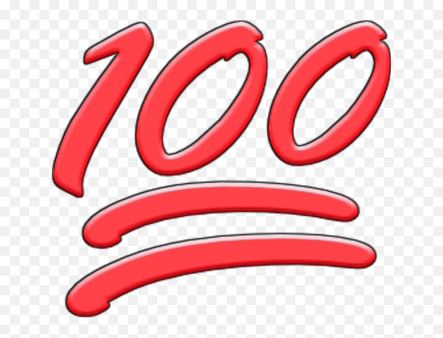 100 Emoji - Oval