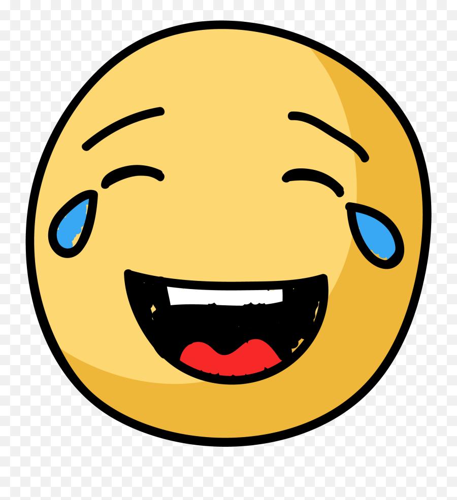 Emoji Clipart Joy Emoji Joy Transparent Free For Download - Laughing,Crying With Laughter Emoji