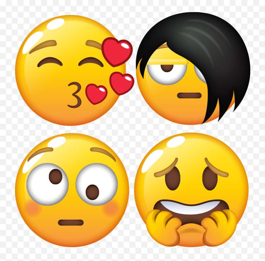 Most Wanted Emojis - Happy,Popular Emojis
