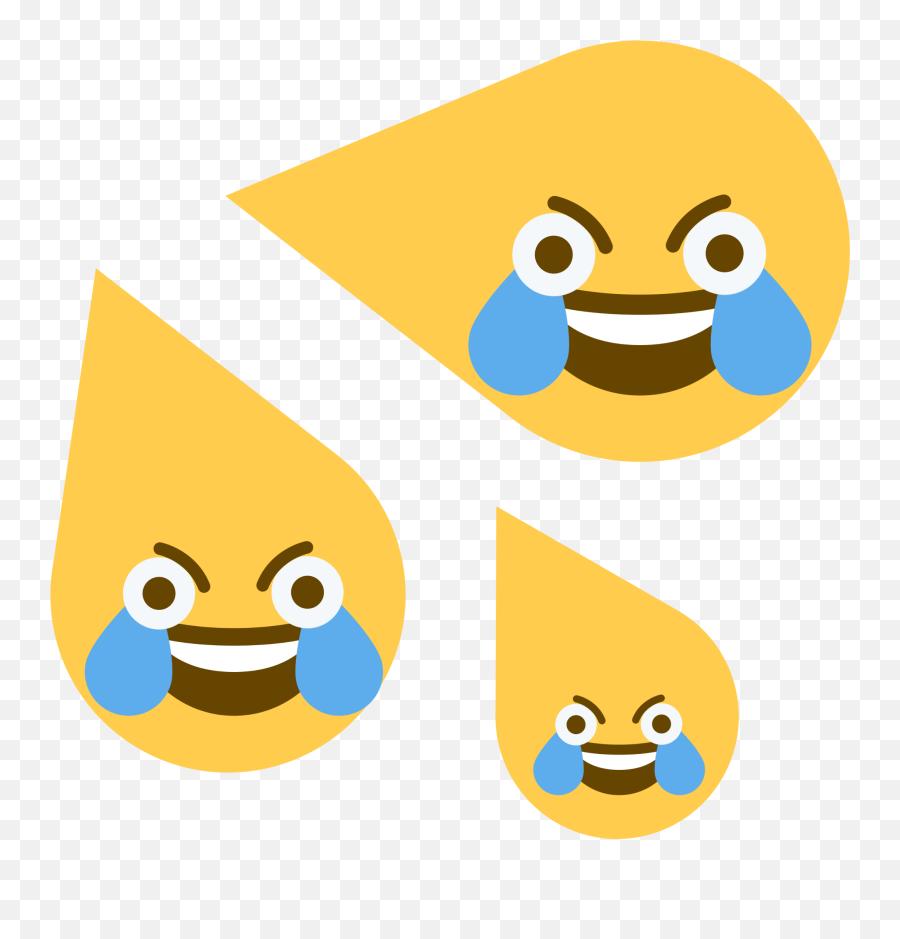 Discord Emoji - Open Eye Crying Laughing Emoji Meme Gif,Emoji For Pictures
