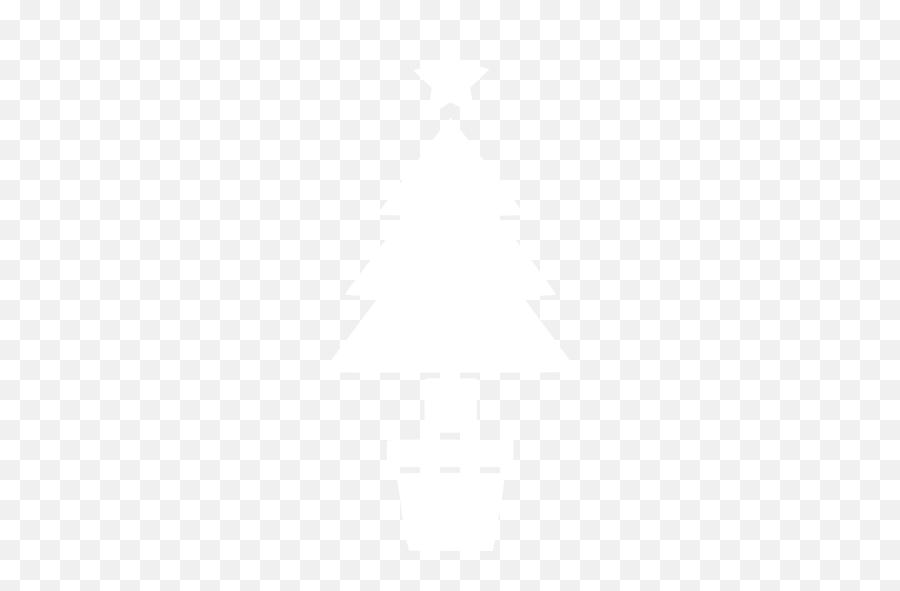 White Christmas 19 Icon - White Christmas Tree Icon Png Emoji,Christmas Tree Emoticon