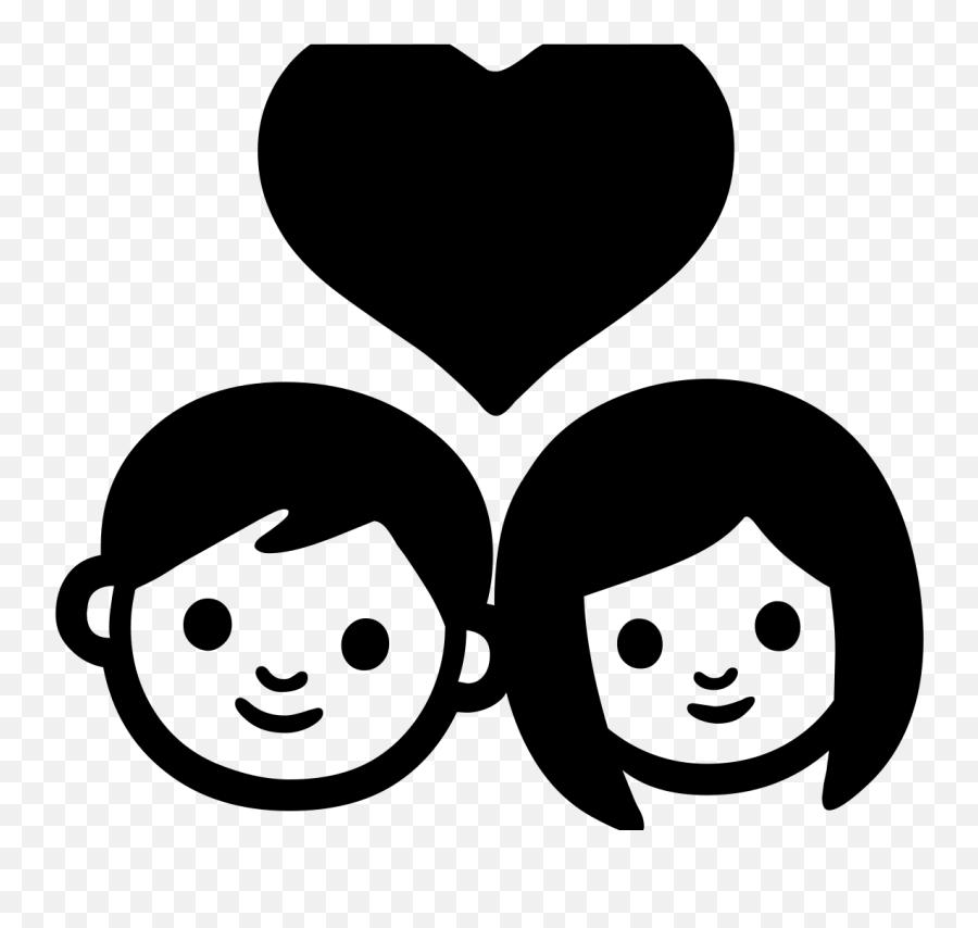 Android Emoji 1f491 - Iphone Couple Emoji Png,Android Emoji