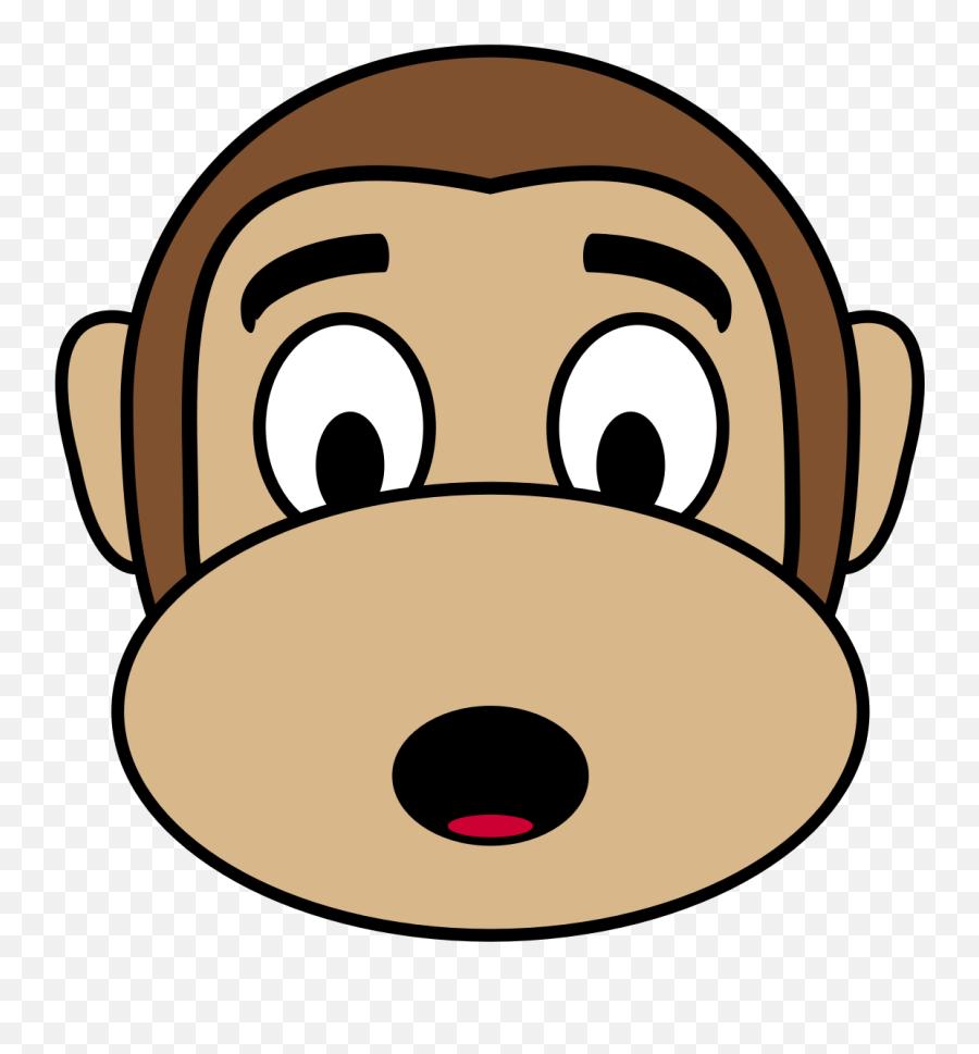 Monkey Emoji Transparent Png Clipart - Monkey Clipart Face Png,Monkey Emoji Facebook