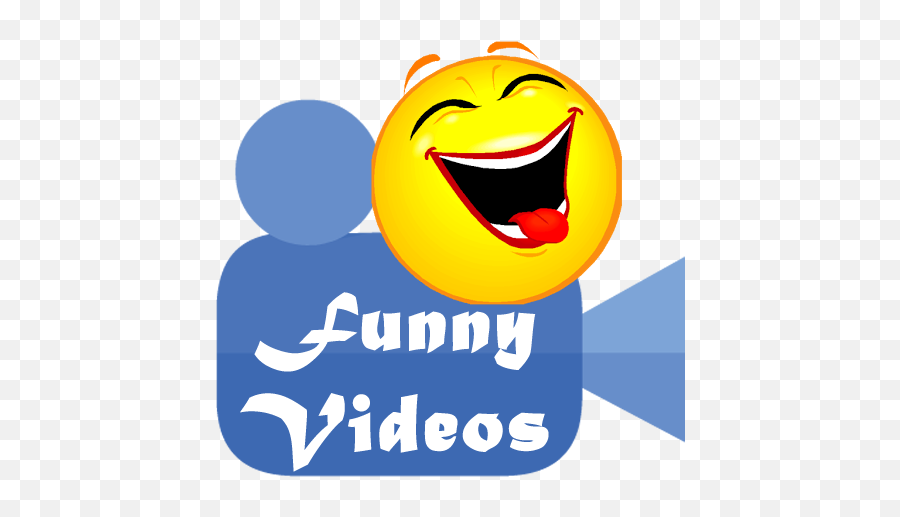Funny Videos Really Cool - Funny Video Logo Png Emoji