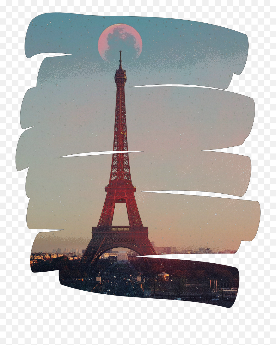 Newest Eiffel Tower Stickers - Eiffel Tower Emoji,Is There An Eiffel Tower Emoji