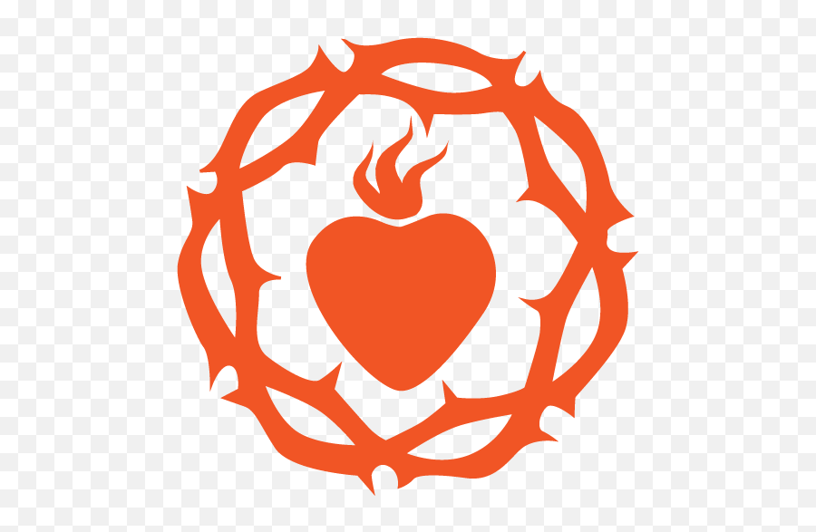 Sacred Heart Png Image - Sacred Heart Clipart