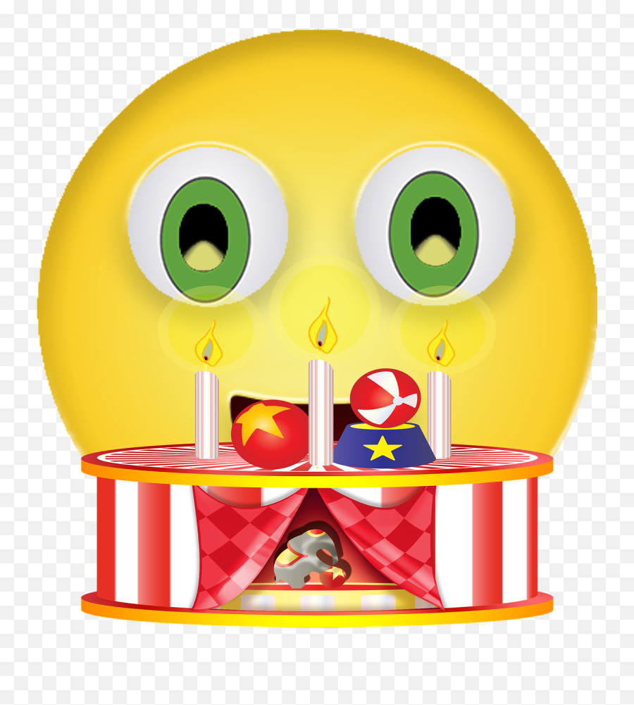 Graphic Birthday Smiley - Free image on Pixabay  Birthday Emoji