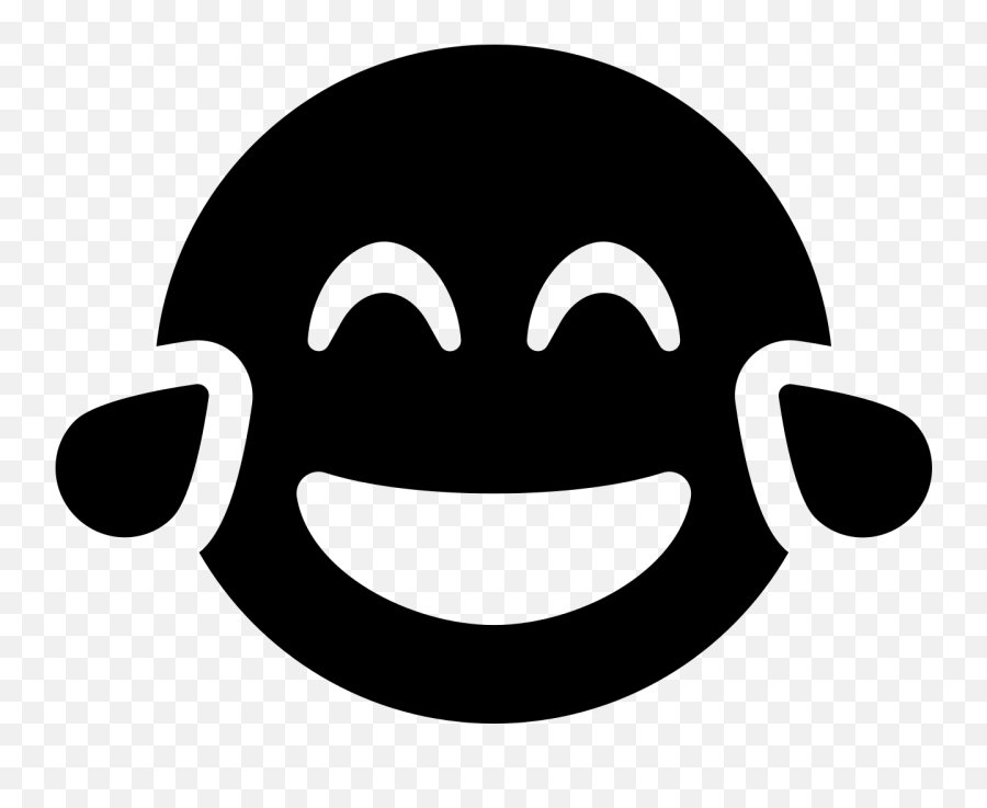 Font Awesome 5 Solid Grin - Smiley Emoji