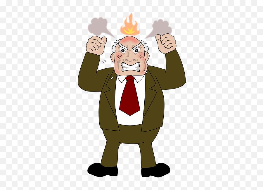 Angry Anger Temper - Cartoon Emoji