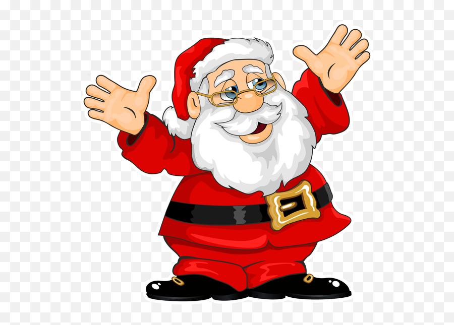 Santa Claus Clipart - Santa Claus Png Gif Emoji,Santa Clause Emoticon