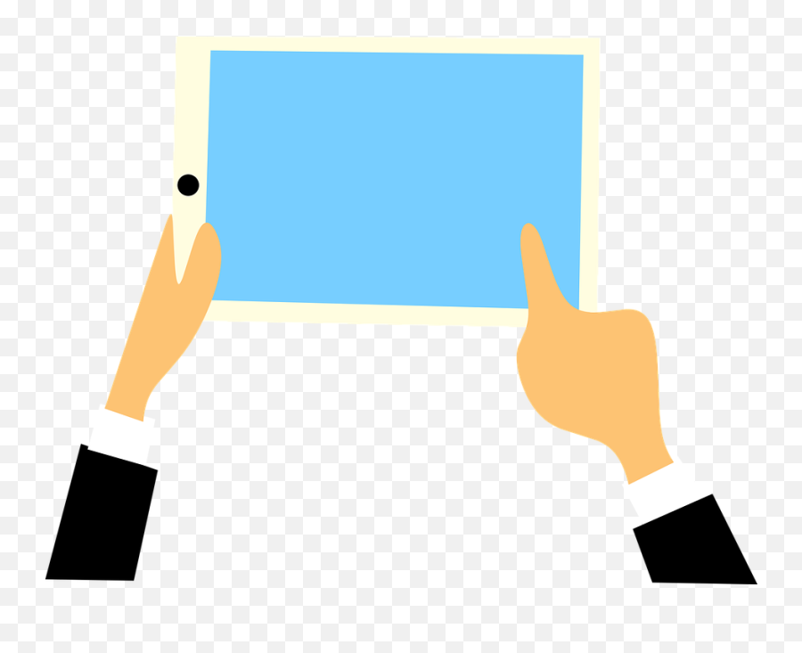 Free Tablet Ipad Vectors - Hands Social Media Emoji,Emoji Keyboards For Iphone 6