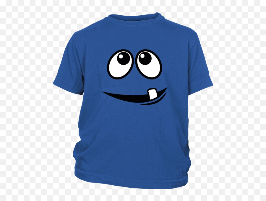 Smiling Monsteru0027s Face 1 Tooth Youth T - shirt  2019 Stl Blues Roster Shirt Emoji