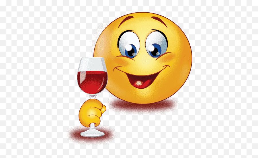 Birthday Party Hard Emoji Png Photos - Smiley Wine