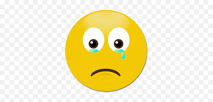 Blaaah - Sad Face Sad Smiley Icon Emoji,Zany Emoji