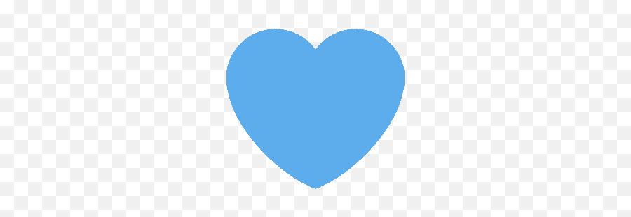 Emojivid - Blue Heart Gif Transparent Emoji