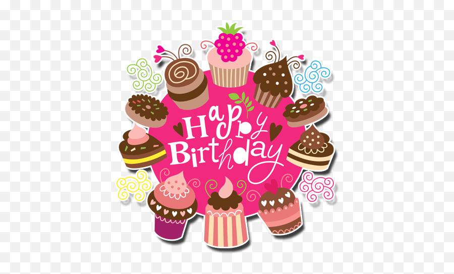 Happy Birthday Stickers 10 Apk Download - com  Happy Birthday Cup Cake Emoji