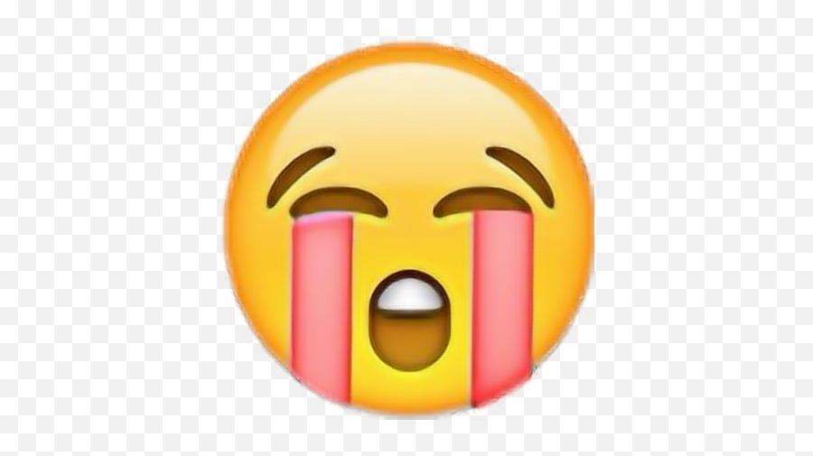 Love Emoji Emojis Pink Cry Crying Cryingemoji - Sad Sticker Cry,Crying Emojis