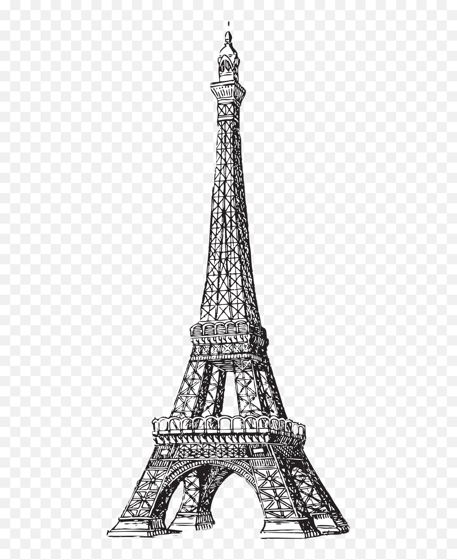Largest Collection Of Free - Toedit Eiffel Tower Stickers Eiffel Tower Emoji,Is There An Eiffel Tower Emoji