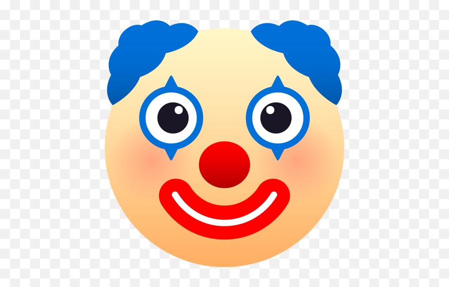 Emoji Clown Face To - Emoji De Payaso,Flushed Face Emoji