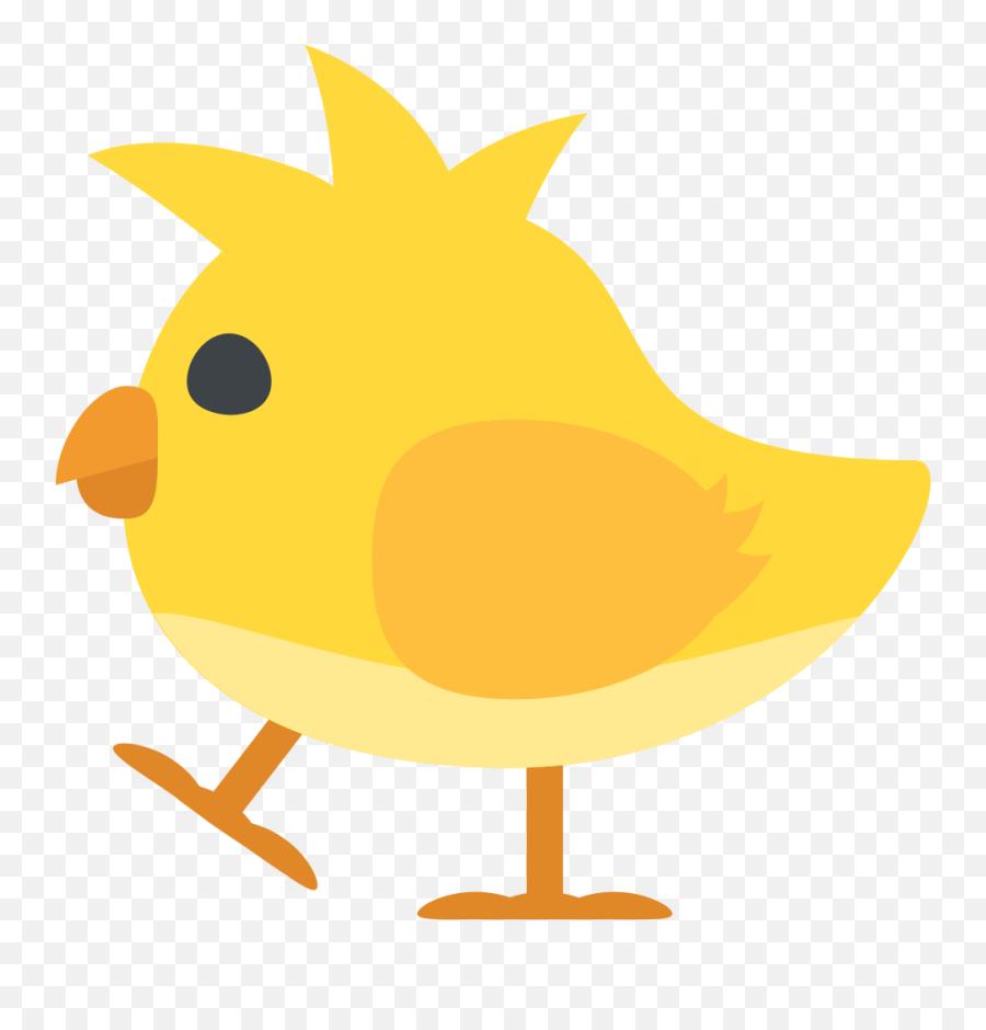 Emojione 1f424 - Perching Bird Emoji
