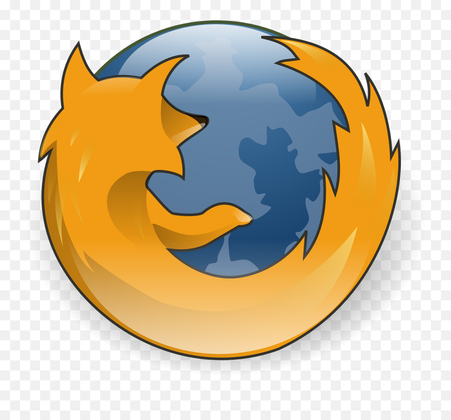 Firefox Browser Logo Fox Internet - Symbol Of Mozilla Firefox Emoji,Fire Emoji Iphone
