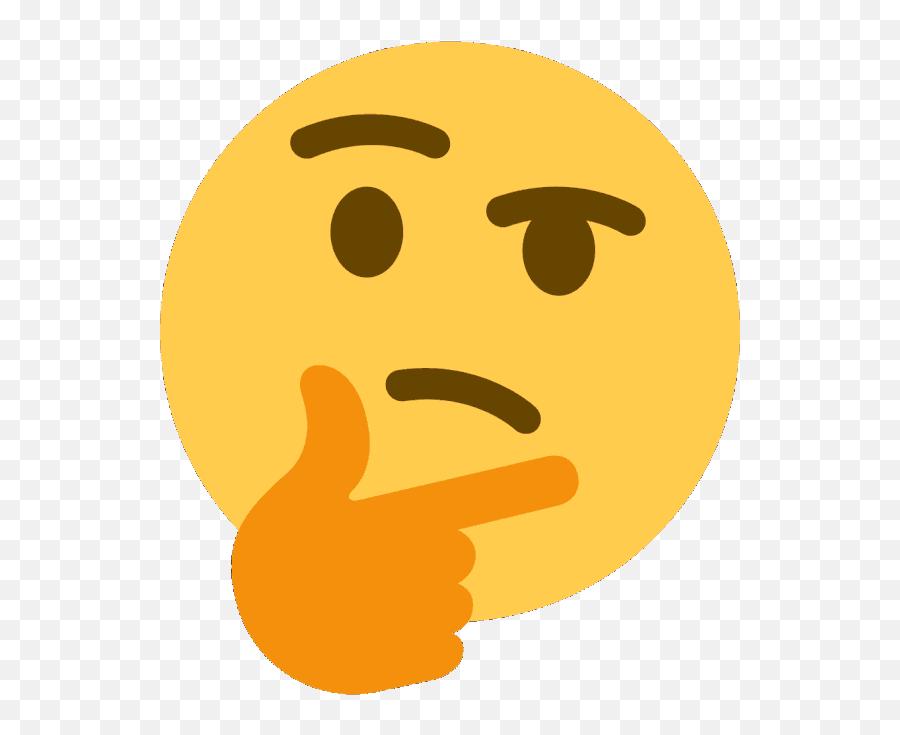 Penut Memes - Transparent Thinking Emoji Meme