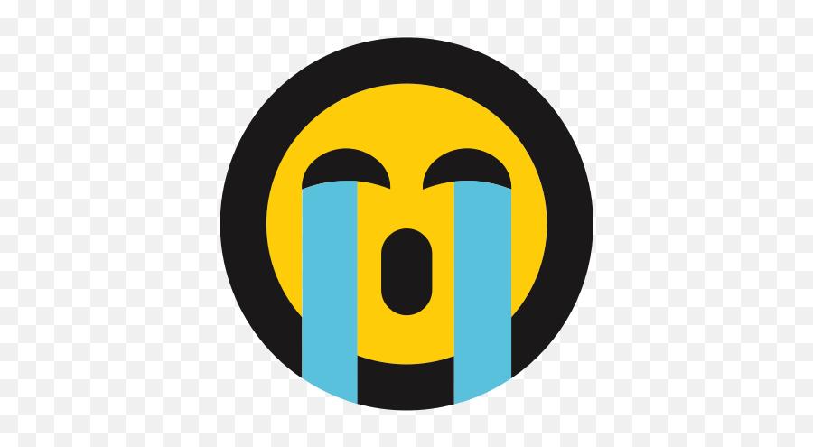 Crying Emojis Emoticon Sobbing Icon - Emoticon,Crying Emojis