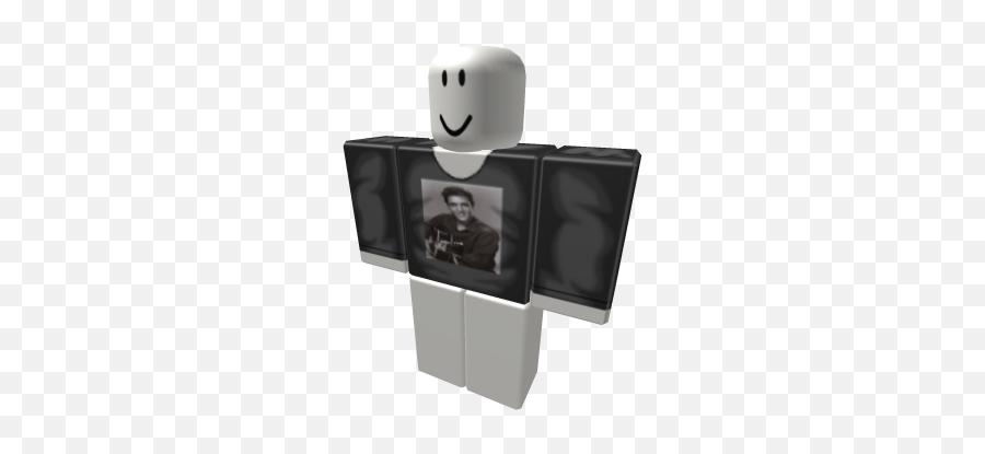 Elvis Presley Shirt - Black Tuxedo Roblox Emoji