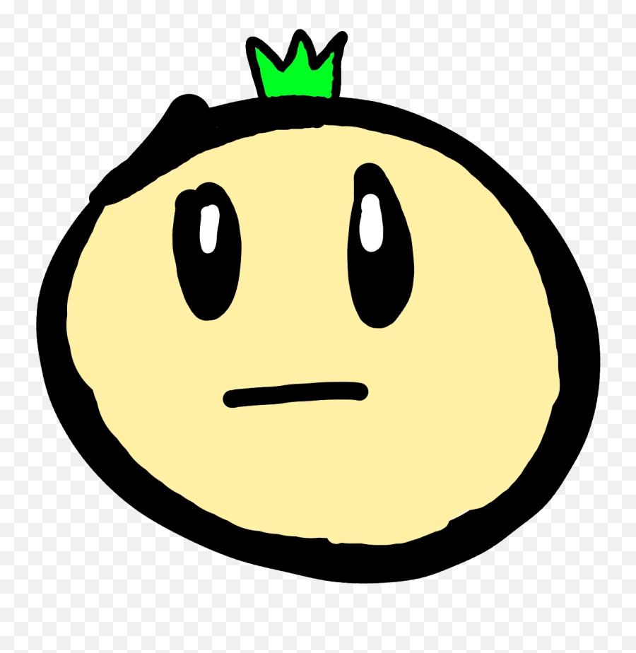Plants Vs - Smiley Emoji
