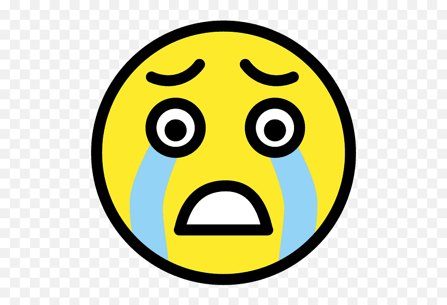 Loudly Crying Face Emoji Clipart Free Download Transparent - Emoticon,Crying Emoticon