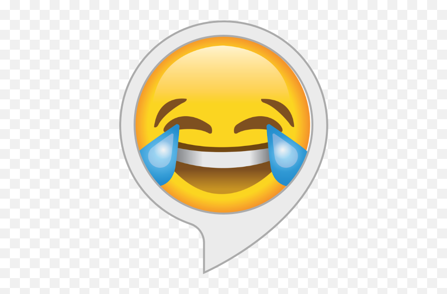 Alexa Skills - Cry Laughing Emoji Png,Laughing Out Loud Emoticon