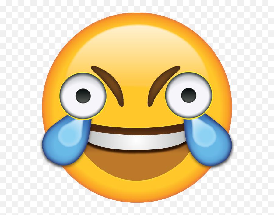 Open Eye Laughing Crying Emoji Hd - Tears Of Joy Emoji Png,Laughing Emoji