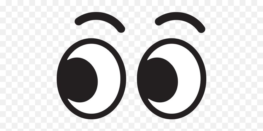 Eyes Emoji For Facebook Email Sms - Eyes Emoji Black And White