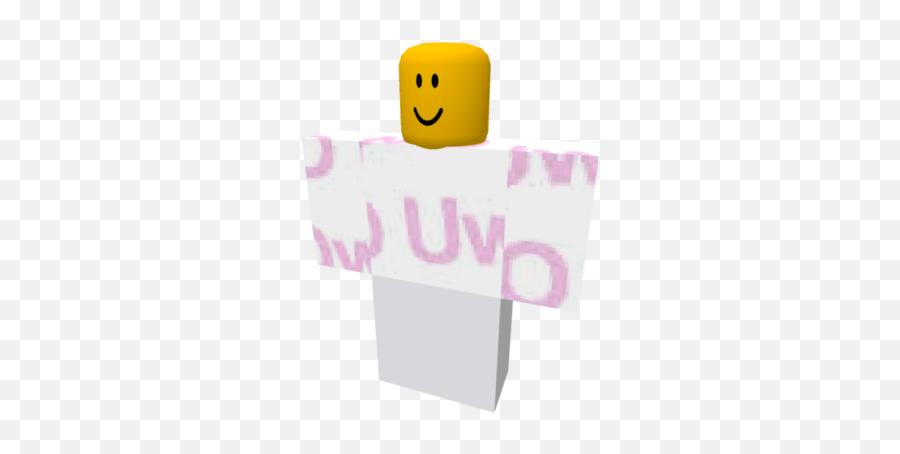 Uwu - Brickhill Shirts Emoji
